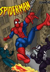 Iceman Blue Spiderman 1