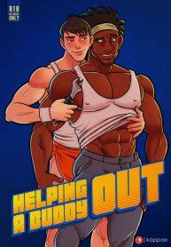 KappaX-Art-Big-Hero-6-Helping-a-Buddy-Out-Wasabi-x-Tadashi-Hamada-0t